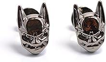 Batman antifaz negro novedad gemelos - Diseño Vintage Cuff Links para hombres