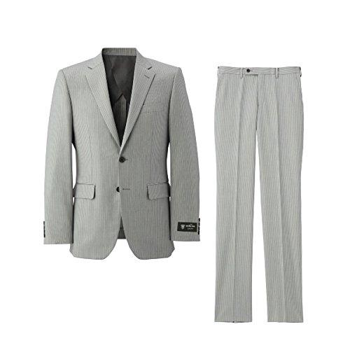 タケオキクチ(TAKEO KIKUCHI) スーツ(ドーメル84カラーピンストライプスーツ)【311ライトグレー/L】