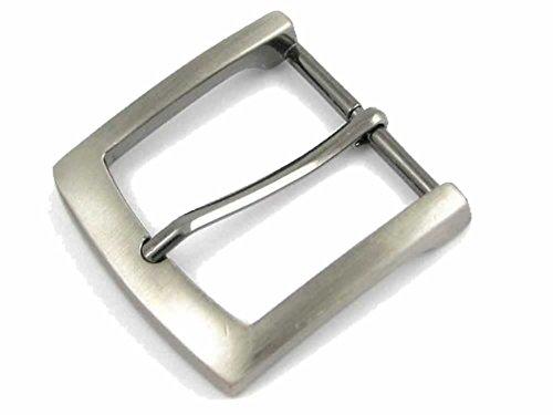 ZINC DIE CAST BELT BUCKLE (ANTIQUE SILVER LOOK) - adatto per staccabili snap-fit cinghie fino a 38mm - 40mm di larghezza (venduto separatamente)