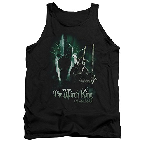 The Lord of The Rings Movie Witch King Pose Adult Tank Top Shirt