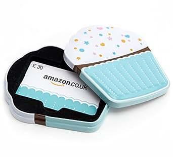 Amazon.co.uk Gift Box - £30 (Cupcake)