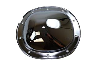 """Racer Performance 1978-UP Chevy/GM Chrome Steel Rear Differential Cover - 10 Bolt w/ 7.5""""/7.625"""" Ring Gear"""