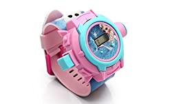 Theme My Party FROZEN PROJECTOR WATCH (24 Images)(Multi-Colour) -- Toy Watch -- Birthday Return Gift (multicolour)