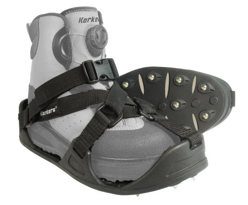 Korkers  RockTrax Cleated Overshoe, Large