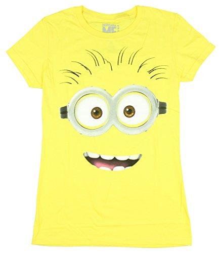 juniors-despicable-me-2-big-face-juniors-slim-t-shirt-size-m