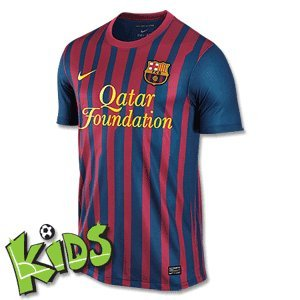 Buy Low Price Nike Barcelona Home Jersey 11/12 (B005DUGG6E)