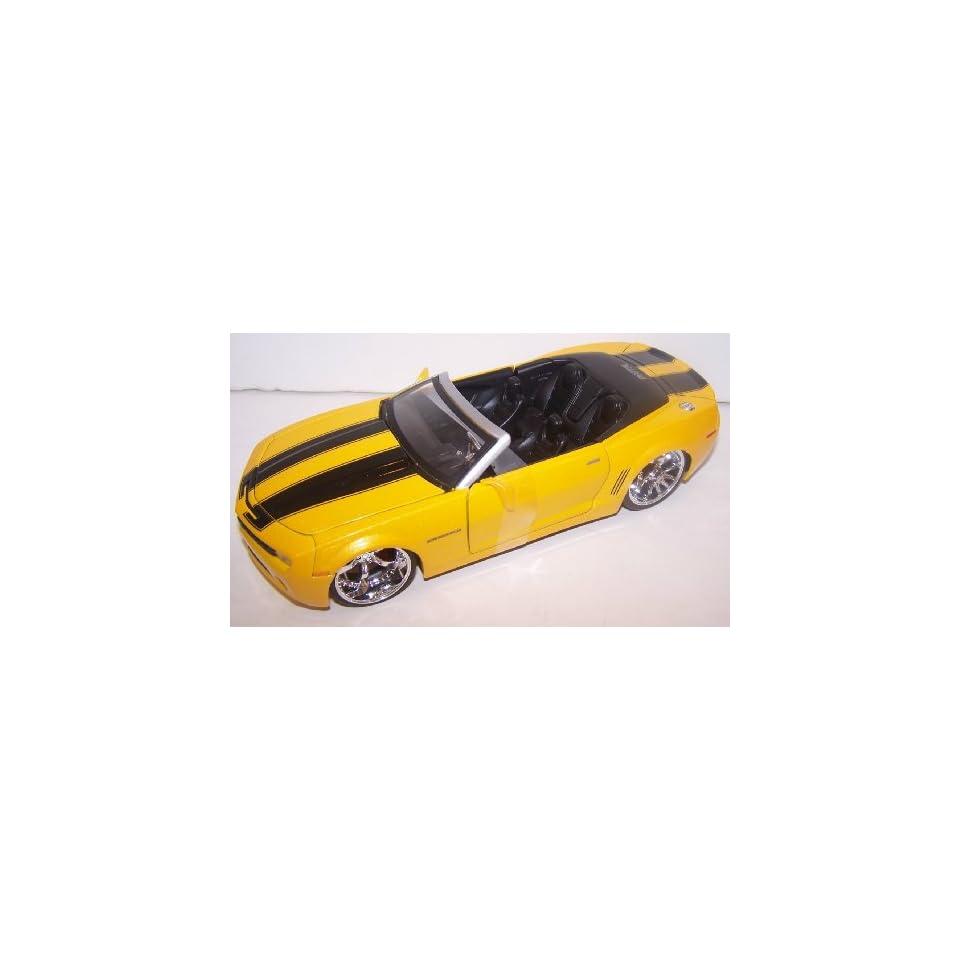 Jada Toys 1/24 Scale Diecast Big Time Muscle 2007 Camaro