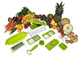 Genius Nicer Dicer Plus - Decoupe facile Legumes et fruits - 11 Pieces