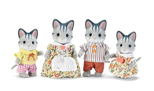Calico Critters Fisher Cat Family by Calico Critters