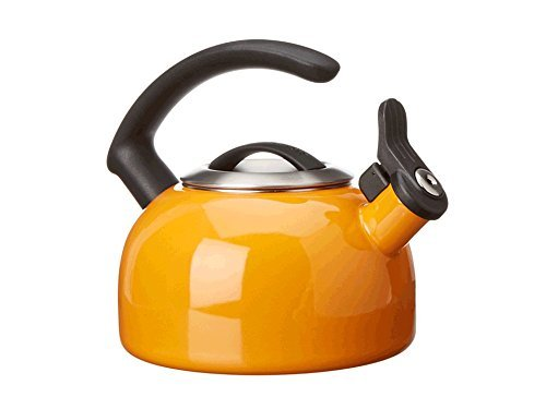 KitchenAid 1.5-Quart Removable Lid Tea Kettle with Audible Whistle and C Handle KTEN15ANDO Mandarin Orange 2016 new arrival 1pieces dental standard teaching model with removable teeth