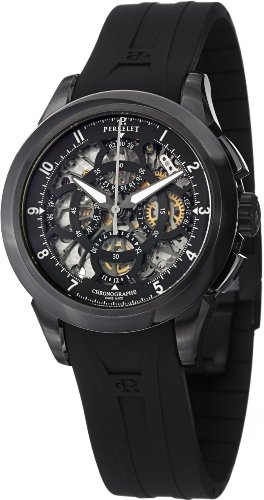 Perrelet Chrono Skeleton Men's Watch A1057/1