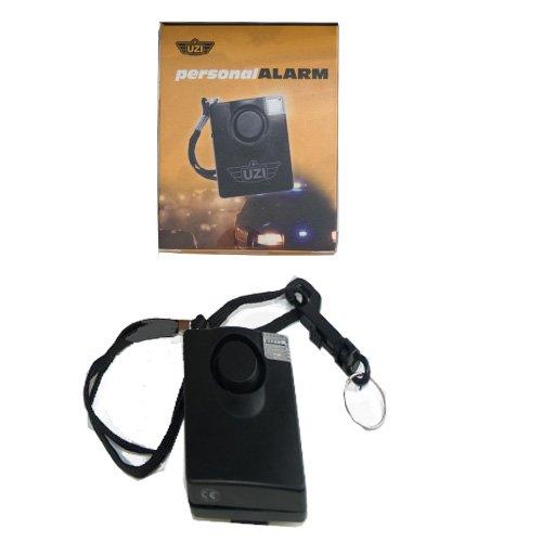 UZI Self Defense Sonic Shield Loud Personal LED Alarm