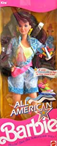 All American All American Barbie Kira Doll W Reebok Shoes