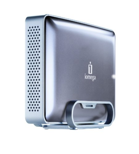 Iomega eGo 2 TB USB 2.0 FireWire 800 Desktop External Hard Drive Mac Edition - 34796