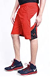 Repugn's Velouté z3 Sports Shorts (Red, Large)