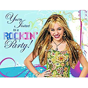 Hannah Montana Invitations 8ct
