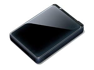 Buffalo MiniStation Plus - Hard drive - 1 TB - external - SuperSpeed USB - black from Buffalo Technology