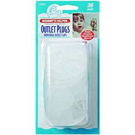 Mommy's Helper Outlet Plugs 36 Pack: Baby