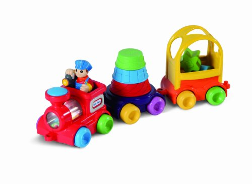 Little Tikes DiscoverSounds Sort and Stack Train - 1