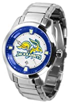 South Dakota State Jackrabbits SDSU NCAA Mens Titan Steel Watch