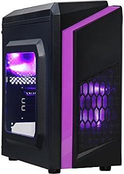 DIYPC DIY-F2-P Micro ATX Mini Tower Computer Case