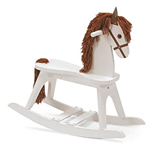 Stork Craft Rocking Horse, White (Discontinued by Manufacturer)