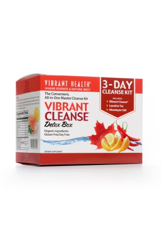 3-Day Vibrant Cleanse Detox Box 18 Packets