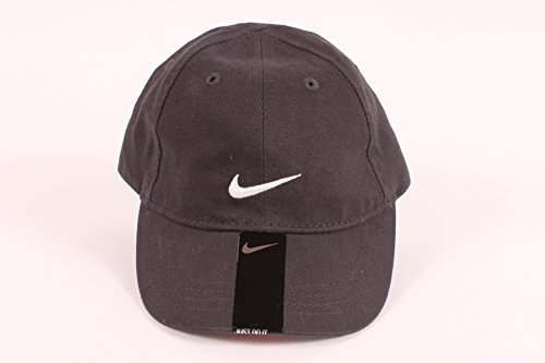 Nike Little Boys' Anthracite Embroidered Swoosh Cap