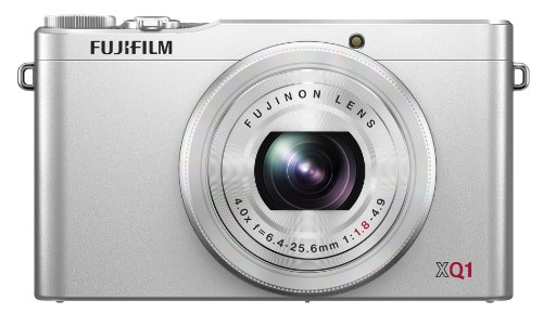 Fujifilm XQ1 12MP Digital Camera with 3.0-Inch LCD (Silver)