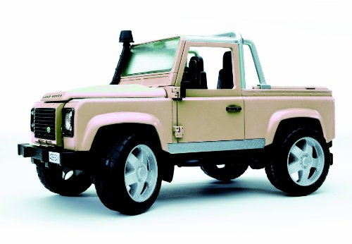 Bruder Toys Land Rover Defender Pick Up [Colors May Vary]