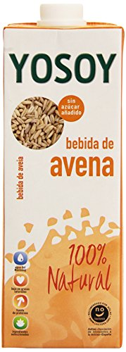 YoSoy - Bebida de Avena - 100% Natural 1 litro - Pack de 6 (Total 6 litros)