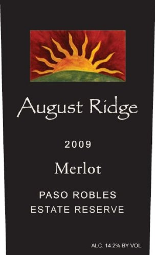 2009 August Ridge Merlot Estate Reserve 750 Ml