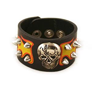 Men's leather armbands: Celtic Bracelets - Leather Wristbands