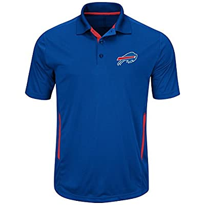 Buffalo Bills Mens Royal Field Classic II Synthetic Polo Shirt