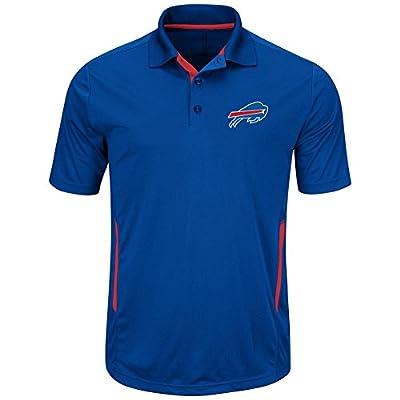 Buffalo Bills Mens Royal Field Classic II Synthetic Polo Shirt