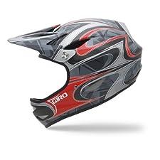 Giro Remedy CF Mountain Full-Face Bike Helmet (Red/Carbon, Small)