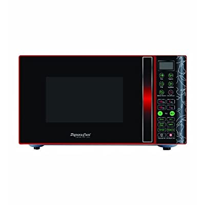SignoraCare 25 litres Grill MicroWave Oven (Black Red)