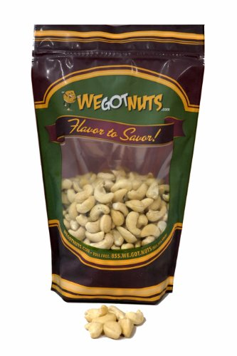 Really Raw Cashews, 16~Ounce Pouch - We Got Nuts
