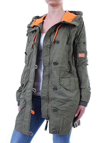 Superdry Parka Women - ULTIMATE SERVICE - Trad Army