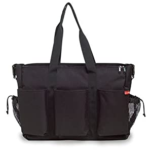 Skip Hop Double Deluxe Changing Bag (Black) from Skip  Hop