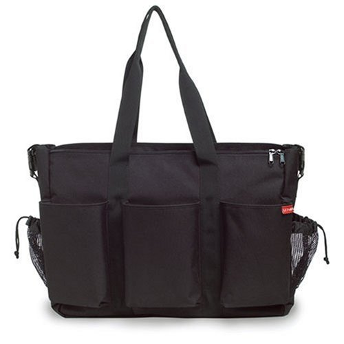 Skip Hop Duo Double Deluxe Diaper Bag, Black