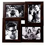OM Arts Wooden Collage Photo Frame Sweet Long Lasting Memories (23 Cm X 24 Cm X 2.5 Cm, 123766)