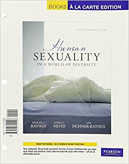 human sexuality case study Significant role in helping clients address issues of human sexuality ii  plays  and/or case studies, self-reflection exercises and the use of individualized.