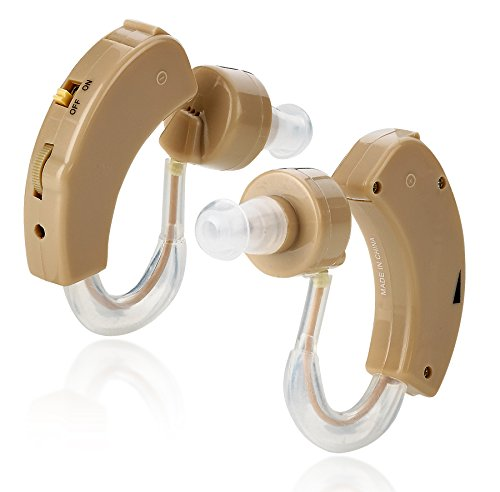MEDca BTE Behind the Ear Hearing Amplifier - Pair