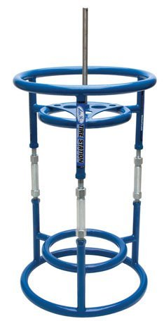 Motion Pro 08-0477 Tire Station - Tire Changing Stand and Air Tank Holder (Tire Changing Stand compare prices)