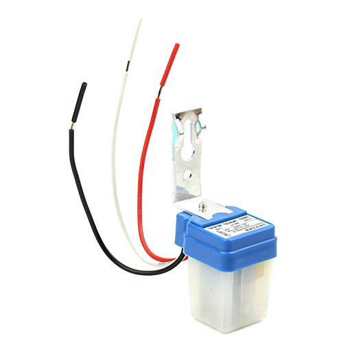 Photo Sensor Switch For Lights: Photo Control Sensor Automatic Street Light Lighting Switch Photocell  Photoswitch 10A 220V (AS-10,Lighting