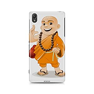 Motivatebox - Sony Xperia Z5 Back Cover - Shaolin Monk Polycarbonate 3D Hard case protective back cover. Premium Quality designer Printed 3D Matte finish hard case back cover.