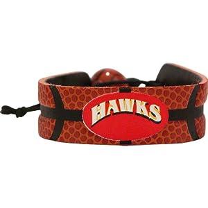 NBA Atlanta Hawks Classic Basketball Bracelet by GameWear