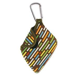 USB Quick Grip Flash Drive Holder - Licorice Brown Design