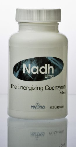 Nadh Ultra 10 mgs 60 caps - The Energizing Coenzyme Energy and Performance Nutrient Supplement